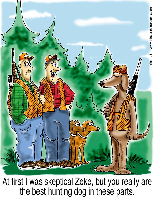 best-hunting-dog-cartoon