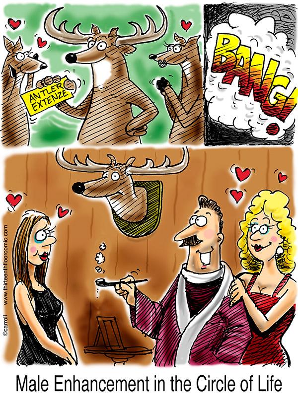 whitetail-deer-big-buck-antlers-cartoon