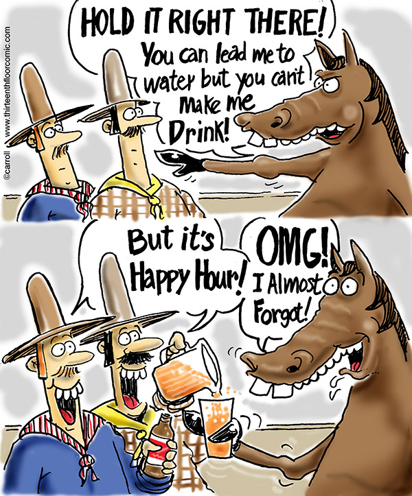 Happy Hour Horse Gifts