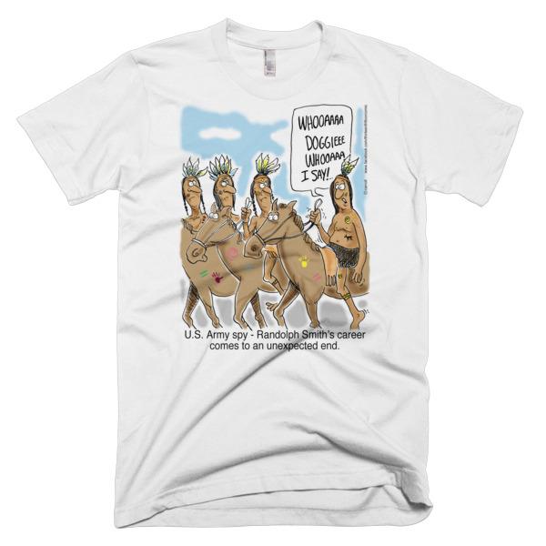 US Army Spy Randolph Smith T-Shirts and Garments