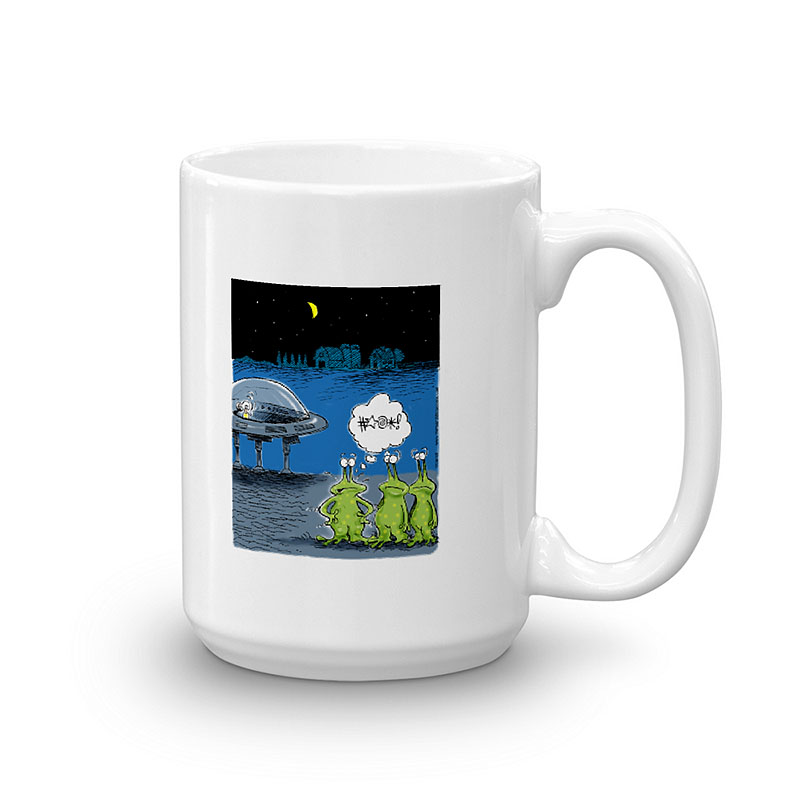 aliens area 51 coffee mug 15oz