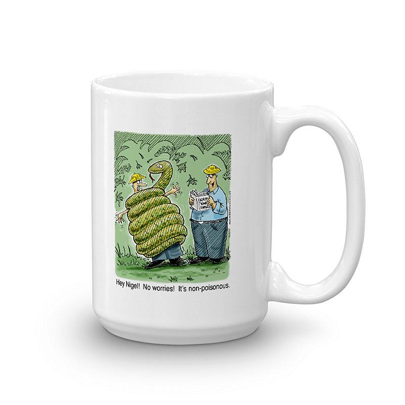 Non-Poisonous Snake Coffee Mugs