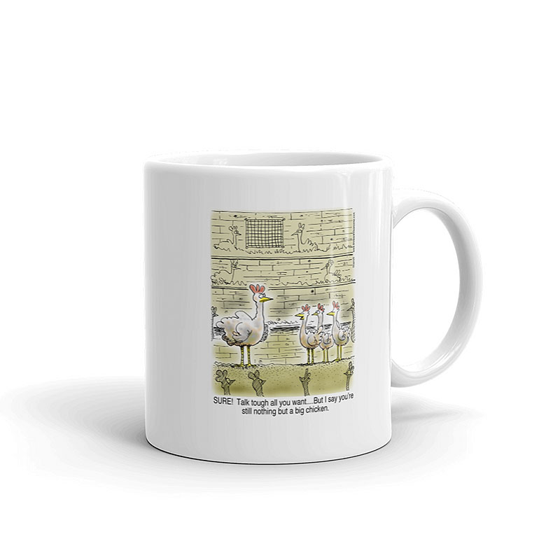 big chicken of the hen house coffee mug 11oz