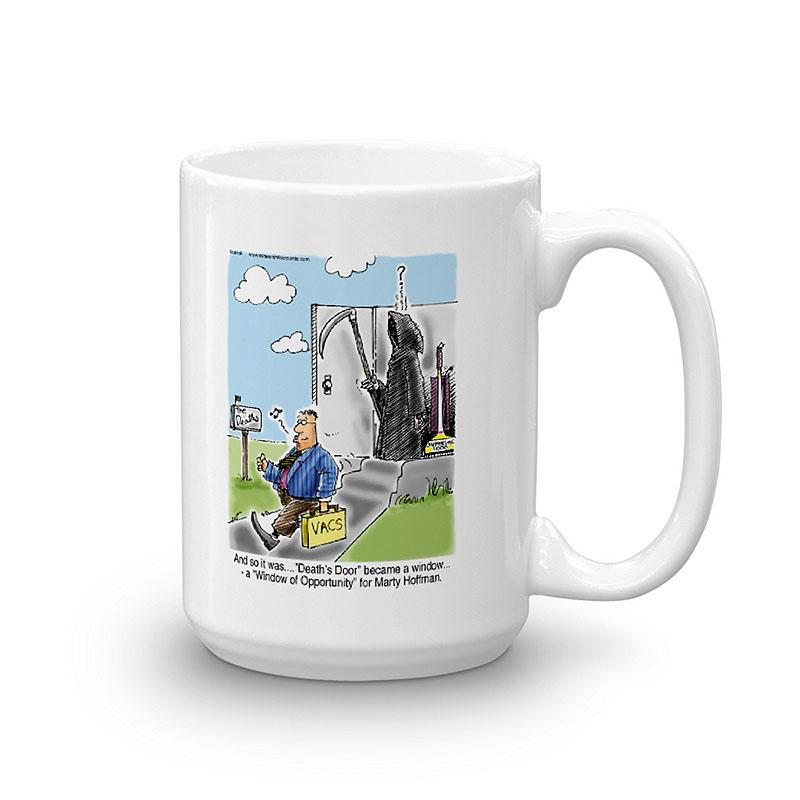 vacuum salesman coffee mug 15oz