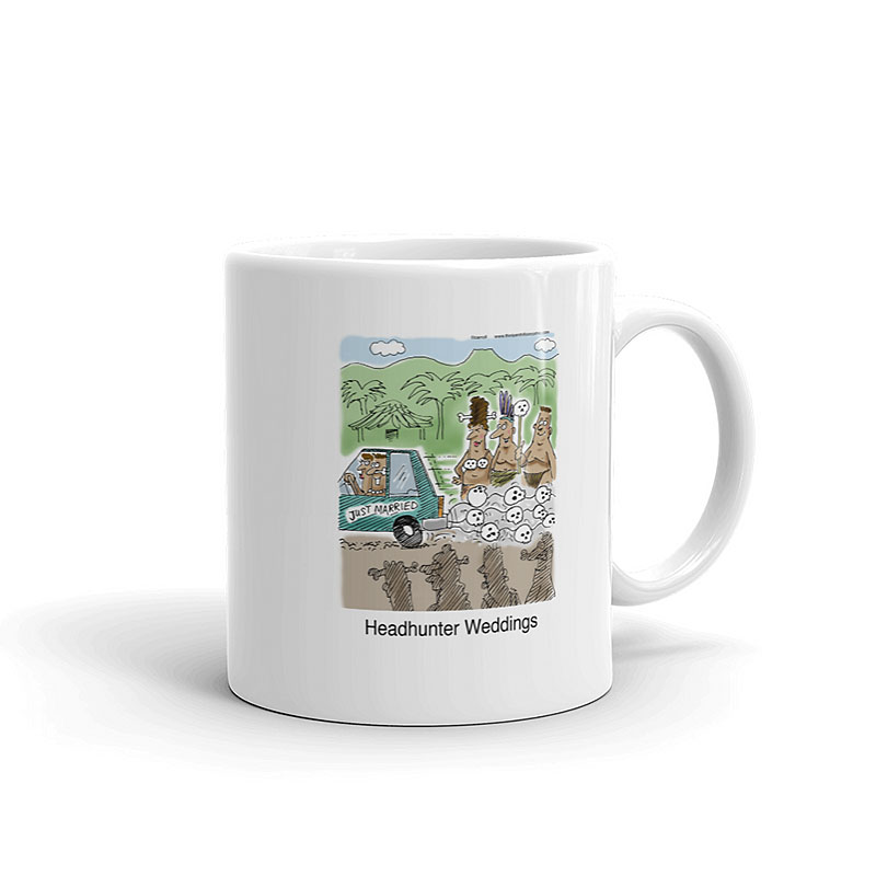 headhunter weddings coffee mug 11oz