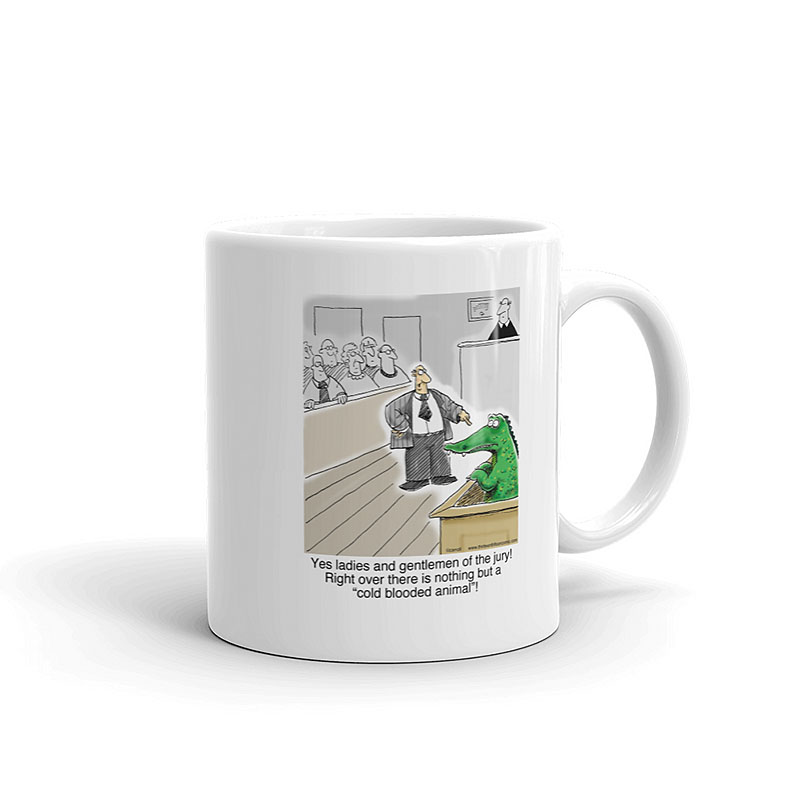 cold blooded animal crocodile alligator coffee mug 11oz