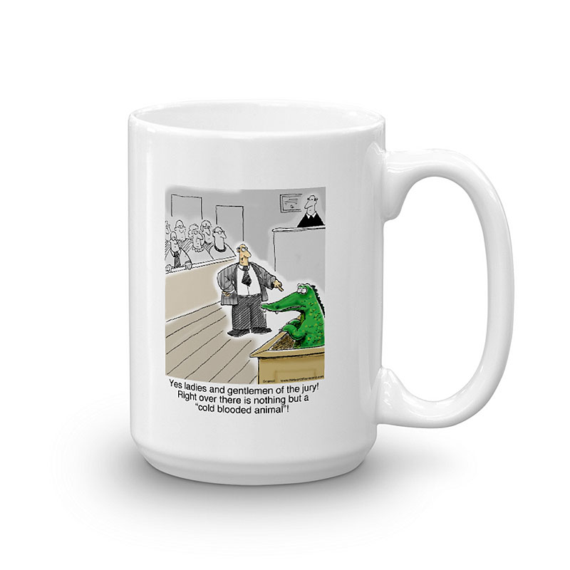 cold blooded animal coffee mug 15oz
