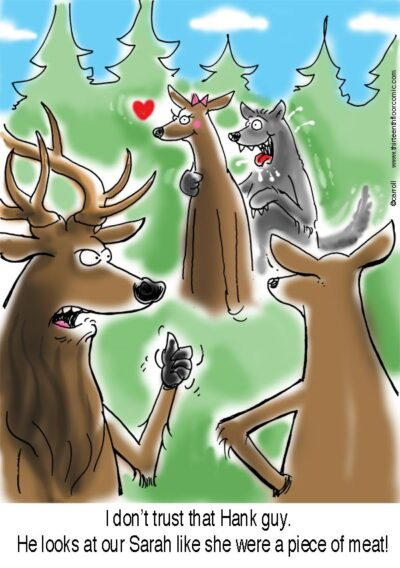 Elk Sarah and Wolf Hank Gifts